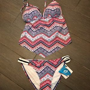 NEW O'Rageous Two Piece Swim Suit